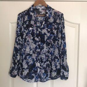 Express Floral Portifino Shirt